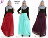 New Aini Chiffon Skirt J6023 for Jan 2015