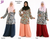 New Amina Paisley Blouse  J5885 for Jan 2015