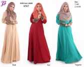 New Camelia Gold Lace Jubah M363 for May 2015