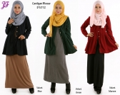 New Cardigan/Blouse D1012 for Jan 2015