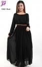 New Chiffon Long Dress F868 for Feb 2013