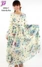 New Chiffon Long Dress M866-1 for May 2013