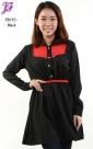 New Color Block Peplum Dress T3015 for April 2013