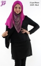 New Cotton Blouse with Chiffon S063 for Sept 2013