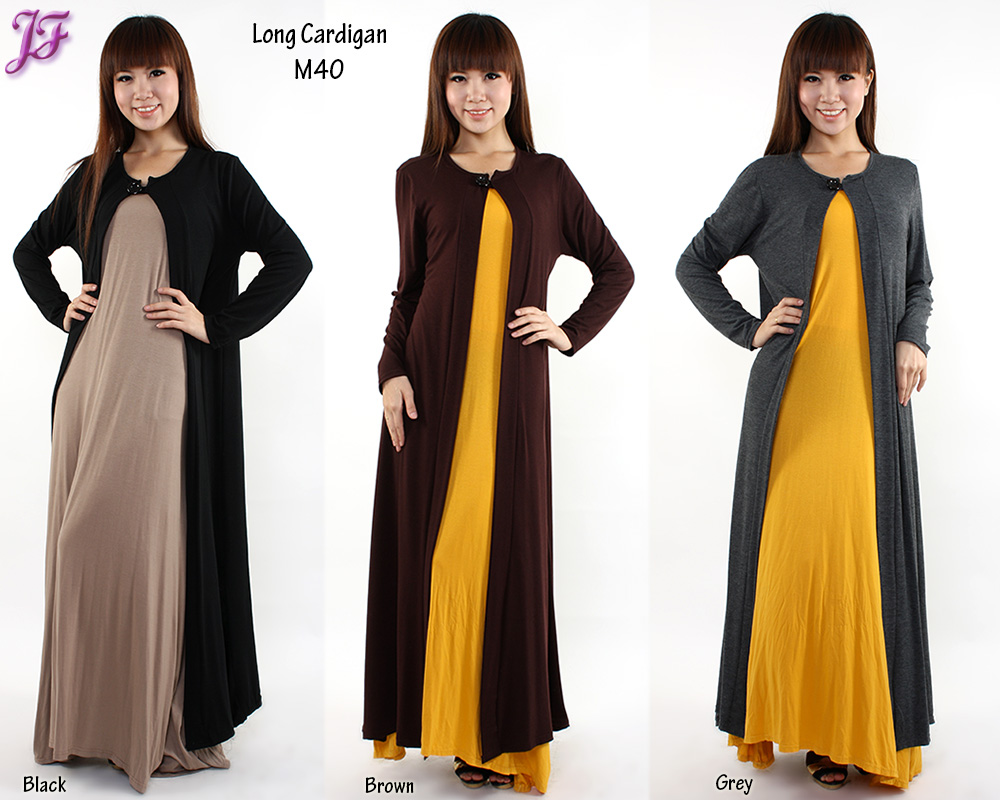 New Long Cardigan M40 and Pleated Palazzo M899-1 for May 2013 ...