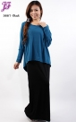 New Cotton Long Dress with Blouse S661 for Sept 2012