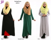 New Cotton Overlap Dress N5021 for Nov 2014