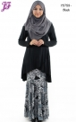 New Cotton Overlap Fishtail with Paisley Skirt Y5759 for July 2014