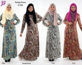 New Cotton Paisley Long Dress S768 for Sept 2013