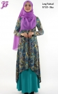 New Cotton Paisley Long Fishtail Dress N708 for Nov 2013