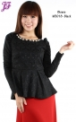 New Cotton Peplum Top M3018 for May 2013