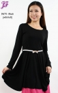 New Cotton Peplum Tunic D675 for Dec 2012