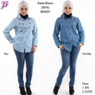 New Denim Jean Blouse for M6605 May 2014 - part 2