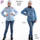 New Denim Jean Blouse M6601 for May 2014 - part 1