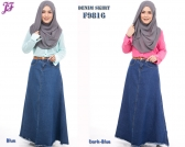 New Denim Jean Skirt F9816 for Jan 2016