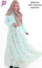 E805-Small Floral Mint Green