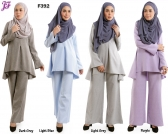 New Farisha Fishtail Blouse F392
