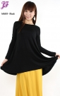 New Flared Cotton Blouse M689 for May 2013