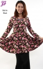 New Floral Peplum T3019 for March 2013- part 2