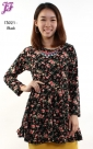 New Floral Peplum T3021 for March 2013