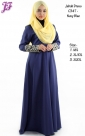 New Jubah Dress with Front Zipped C347 for Oct 2014