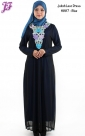 New Jubah Lace Dress with Embroidery H887 for March 2014 - part 2