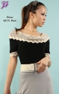 New Knitted Cotton Blouse M218 & M318 for May 2012
