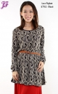 New Lace Peplum Blouse U752 for Aug 2013