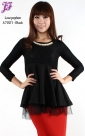 New Lace Peplum Top A7001 for April 2013