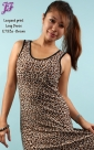 New Leopard Print Long Dress E793