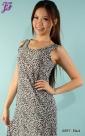 New Leopard Print Sleeveless Long Dress A887 & H793