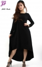New Long Cotton Tail Dress J680 for Jan 2013