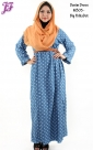 New Long Denim Dress M305 for June 2014