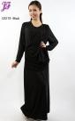 New Long Lycra Maxi Dress C0213 for Oct 2012