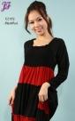New Long Lycra Maxi Dress E2182 for June 2012 - part 1
