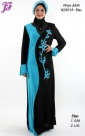 New Lycra Abaya Jubah N28018 for Dec 2013