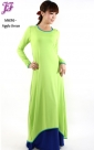 New Lycra Asymmetric Dress M696 for May 2013