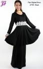 New Lycra Flare Peplum Dress U753 for Sept 2013