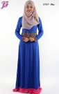 New Lycra Lace Embroidered Long Dress S767 for Oct 2013