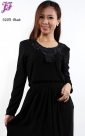 New Lycra Long Dress S203 for Sept 2012