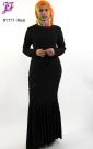 New Lycra Long Maxi Dress N1171 for Nov 2012