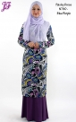 New Lycra Paisley Dress N780 for Dec 2013