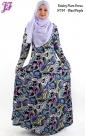 New Lycra Paisley Flare Dress N781 for Nov 2013