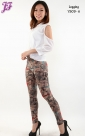 New Lycra Pattern Legging Y909 for July 2013