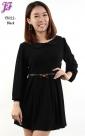 New Lycra Peplum Short Dress T3022 for April 2013