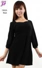New Lycra Peplum Short Dress T3023 for March 2013