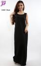 New Lycra Sleeveless Long Dress C668 for Oct 2012