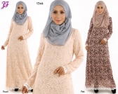 New Nabila Lace Jubah Dress Y344 for Aug 2015
