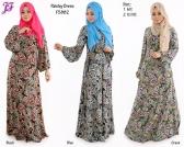 New Liyana Paisley Jubah Dress F5882 for Feb 2015
