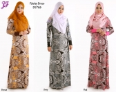 New Paisley Long Dress D5768 for Dec 2014
